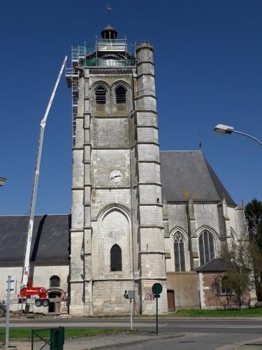 Restauration de l'église Saint Pierre : dôme