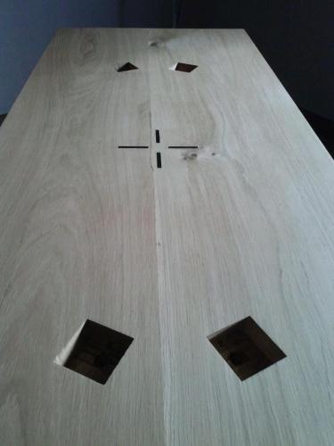 Table en chêne : CAM00305