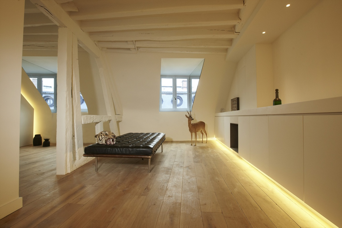 Réhabilitation totale d'un appartement Paris 6 : 3 light