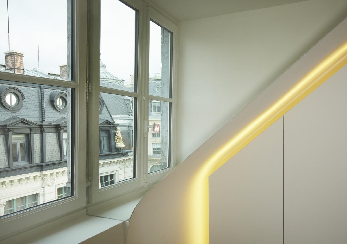 Réhabilitation totale d'un appartement Paris 6 : 7 light