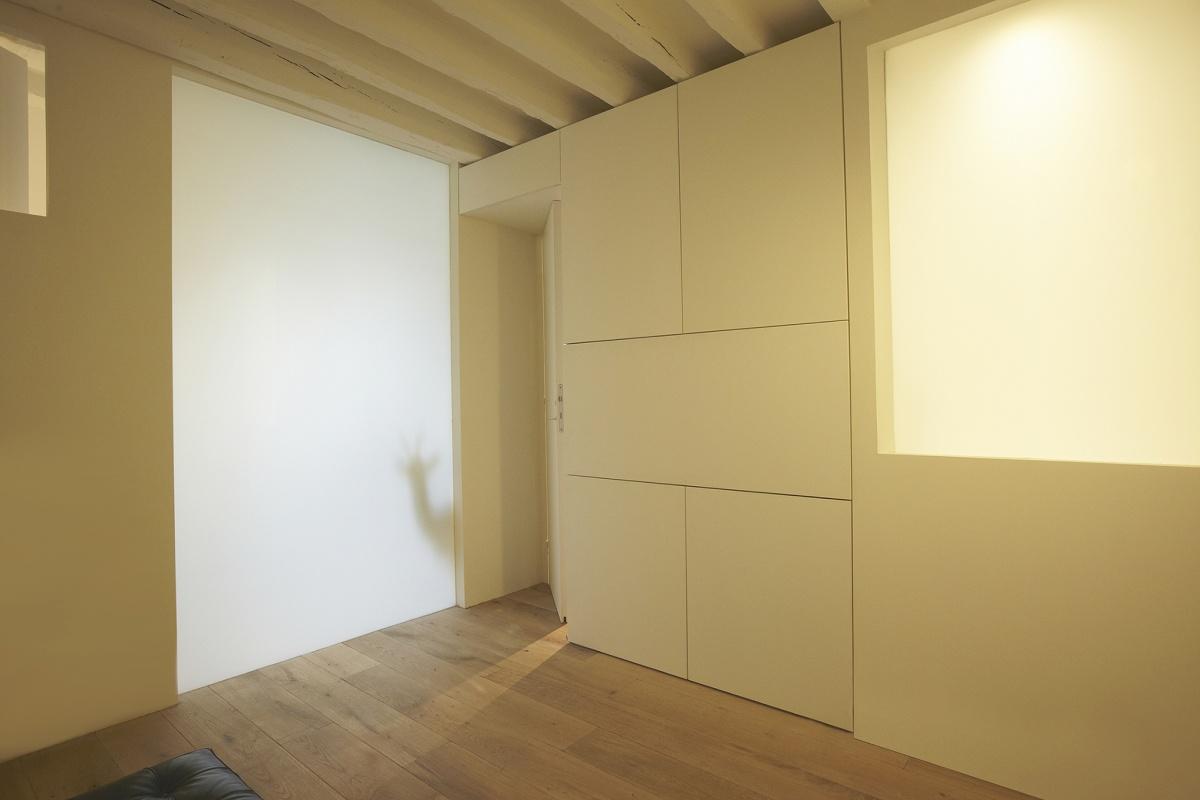 Réhabilitation totale d'un appartement Paris 6 : 6 light
