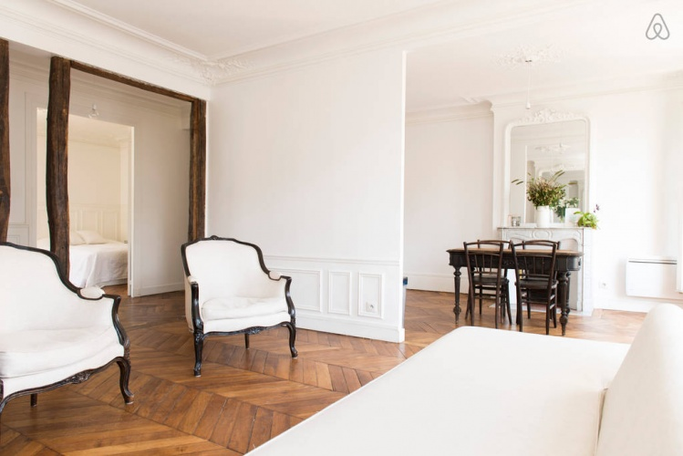 Réhabilitation totale d'un appartement haussmannien à Paris 9 : photo 5D sejour 3
