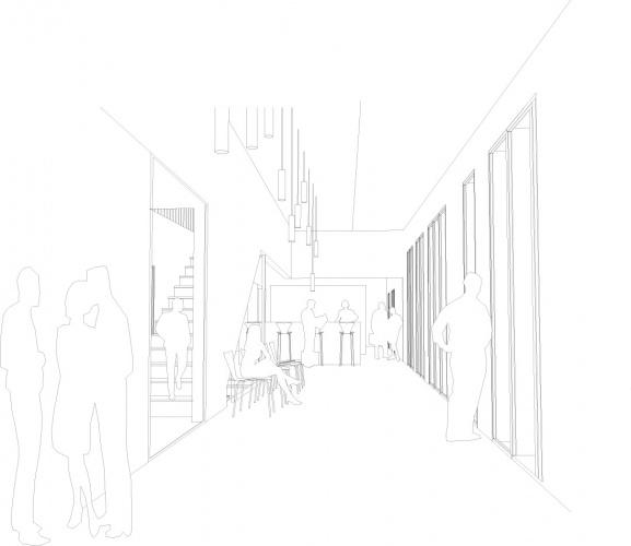 Showroom de vente, eco quartier coeur d'orly : PERS BAR