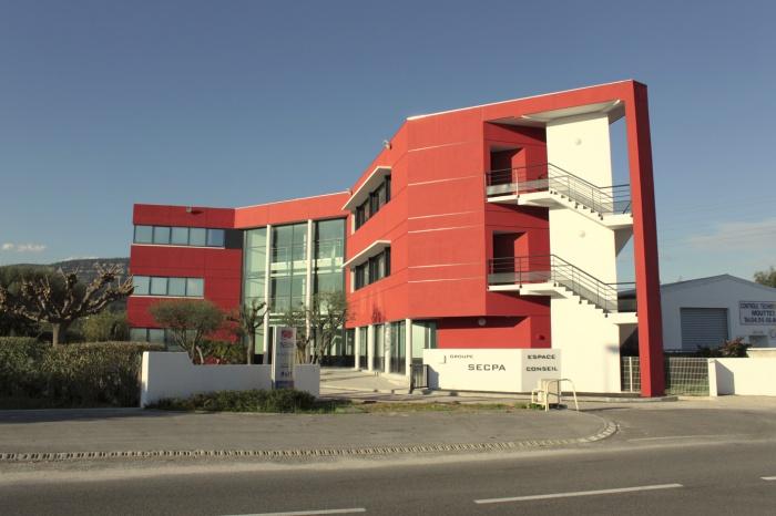 Extension d'un immeuble de bureaux