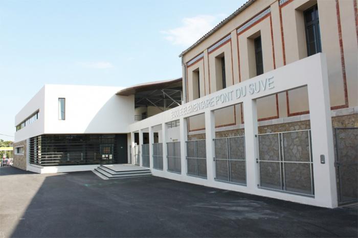Rénovation de l'école primaire Pont du Suve