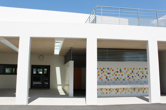 Rénovation de l'école primaire Pont du Suve : IMG_6111