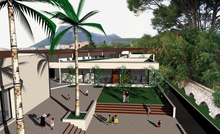 Construction d'un centre de loisirs pour 150 enfants : Sans titre-5