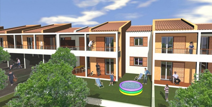 Construction de 22 logements PLI