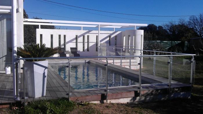 La maison M - projet de pool house et piscine.