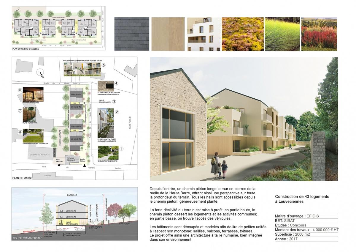 Construction de 43 logements